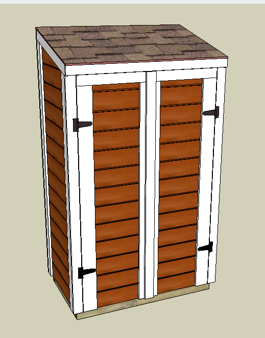 Ordinaire Building A Deck Cabinet In Google Sketchup