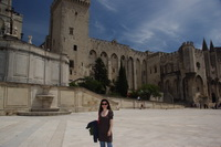 The Palais des Papes (Palace of the Popes) in Avignon