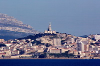 Marseille, overlooked by Notre-Dame de la Garde