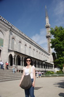 The Sultan Ahmed Mosque, aka the Blue Mosque