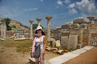 Ruins of the Basilica of Saint John, near Kusadasi